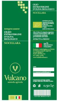 OLIO EXTRAVERGINE D'OLIVA BIOLOGICO NOCELLARA DEL BELICE
