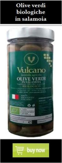 Olive verdi biologiche in salamoia
