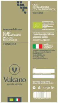 OLIO EXTRAVERGINE D'OLIVA BIOLOGICO TONDINA